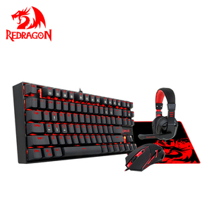 Professional Redragon OEM ODM Cable Waterproof Pad Keyboard And Mouse