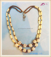 Cute Nature Wooden Bead Necklace Wholesale