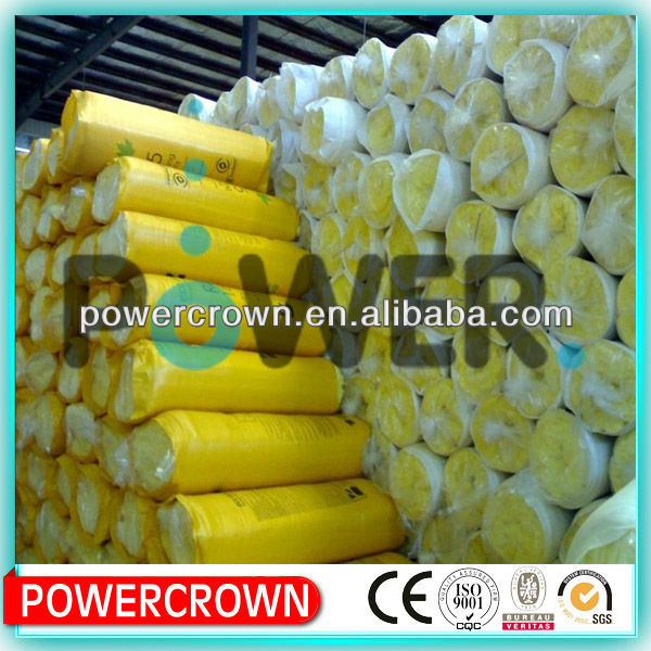 Perforated Aluminum Foil Backed Glass Wool Foam Insulation/high density fireproof insulation glass wool board/panel