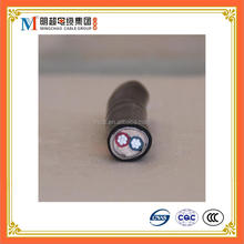 AL/PVC/STA/PVC Underground aluminum conductor SWA cable 2.5mm electric wire