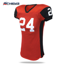 2018 latest design American Football Sublimated/Embroidered Jersey