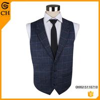 Custom Causual Waistcoat Wool Vest Coat for Men