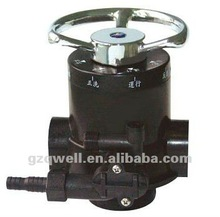 4m3/h F64A1 manual diverter valve for water treatment plant