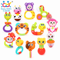 Gift Mixed Color Baby Rattle Toys