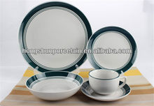 blue and white chinese dinnerware / cheap tableware porcelain