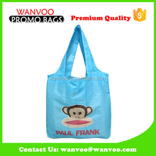 Animal Nylon Foldable Shopping Monkey Folding Bag
