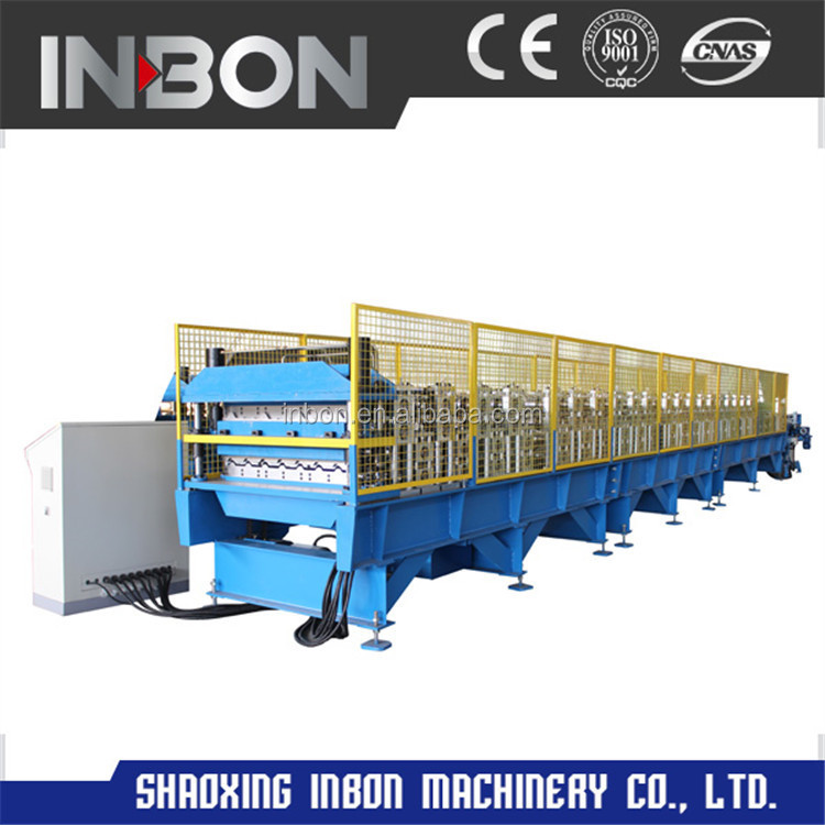 Double Layer Panel Roll Forming Machine For IBR And Corrugated Sheet