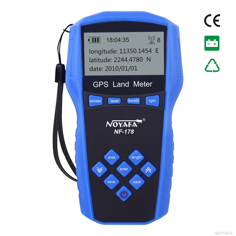 GPS Land Measuring with LCD screen GPS survey meter accuracy for land surveying