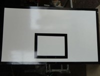 SMC Standard basketball equipment white Basketball backboard