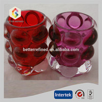 Crystal Bubble Tealight Votive Candle Holders