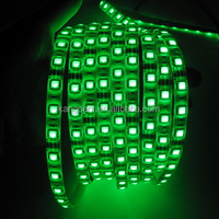 12V 5050 60leds led flexible strip light green cheap price wireless led strip light