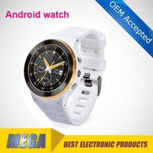 Android OS dual core smart watch phone wifi GPs bluetooth watch phone waterproof
