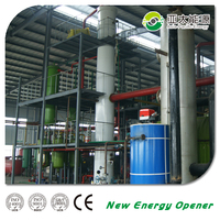50Tons continuous Waste Engine Oil Recycling To Diesel distillation machine CE Certificated