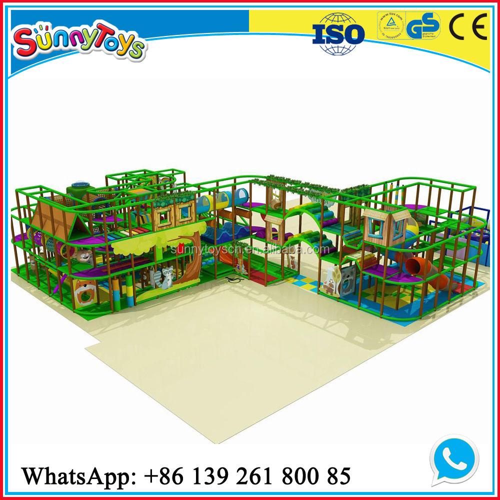 Jungle theme indoor playground gym equipment indoor jungle for Baby jungle gym indoor