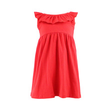 the hot sale newest style OEM service factory price strawberry girl dress