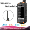 New Arrival Walkie Talkie & GPS Rugged Low Price Smart Touch Screen Military Standard Cheapest 4'' Waterproof Phones