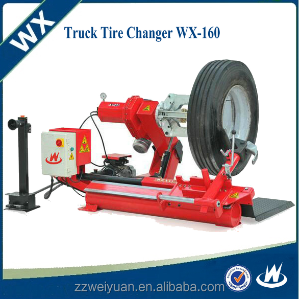 The High Quality Mobile Truck Tyre Changer, Tire changer machine prices WX-160