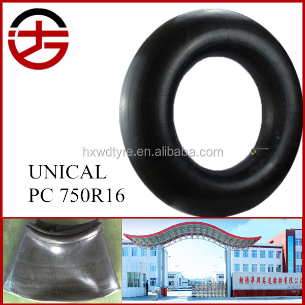 Chinese manufacturer hot sale best quality rubber tyre inner tube for passenger car 750R16