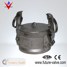 Stainless Steel Dust Cap Female End Coupler Type DC