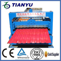 sewing machinery 4 rib wall panels roll forming machine