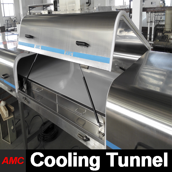 Mini Customize Small Scale Production boneless chicken meat Cooling Tunnel Machine