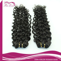 Young Girl's Raw Virgin Weaving Good Supplier Virgin Burmese Deep Curly