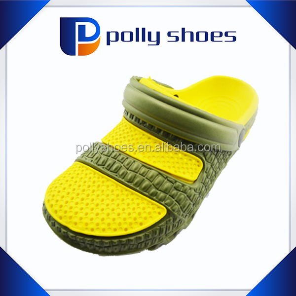 New mould casual style men size EVA garden sports clogs