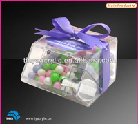 Mini stackable candy bins small food bins Lucite Acrylic candy, dry foods, Beans, Toys Bins Holder Display Box Container
