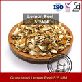 Granulate Lemon Peel Crushed Lemon Peel Dried Lemon Peel
