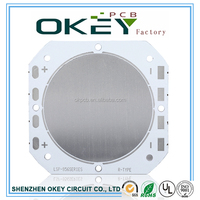 High quality pcb and pcba factory lead free HASL subwoofer pedometer mobile phone printed circuit board