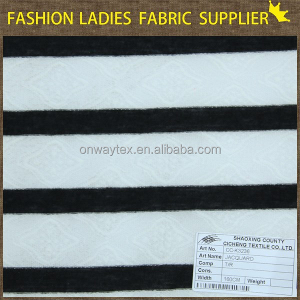 180gsm,T/R elastic for T-shirts,yarn dyed various dimension stripe knitted spun viscose jersey fabric,slub jersey,