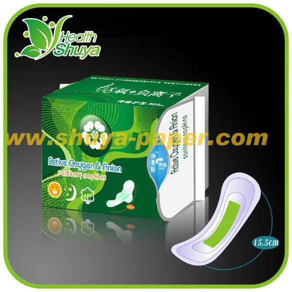 8 High Tech Layers Anion Sanitary Napkin With Negative ...
