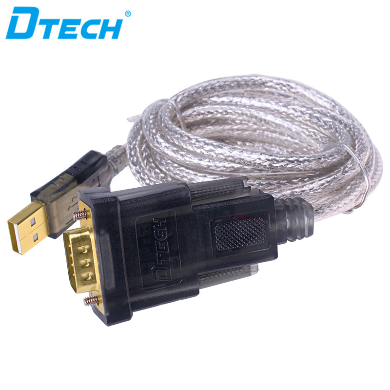 Factory direct sell USB 2.0 to rs232 cable, usb to rs 232 cables for computer