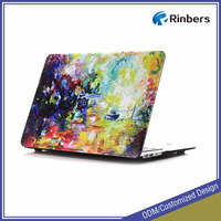 Custom Printed Pattern Hard Shell Case for MacBook Air/Pro 11 11.6 13 13.3 15 15.4 12