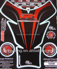 2014 3D domed motorcycle bike resin domed tank pad sticker for tank Protectors Shields
