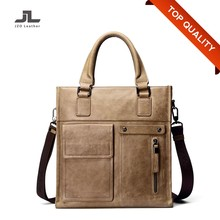 China Imported Genuine Leather Men Messenger Bags/Man Leather Handbag