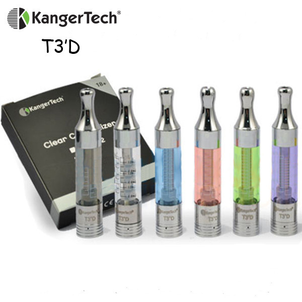 Kanger tech technology 1.5Ohm Resistance Bottom Dual Coil Kanger T3D Atomizer kanger t3 e-cigarette