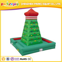 Kids play area inflatable kids rock climbing walls