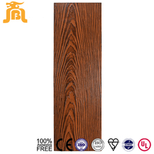 Colorful Wood Grain Cheap Facade Fiber Cement Exterior Garage Wall Panel