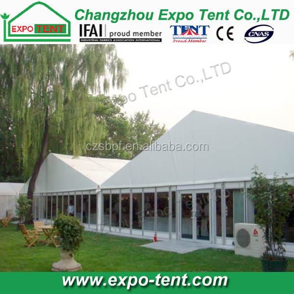 Wedding big event beach party PVC air conditioned marquee tent