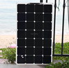 85W flexible sun power solar panel With mc4 connector sunpower solar charger for boats roof application golf carts
