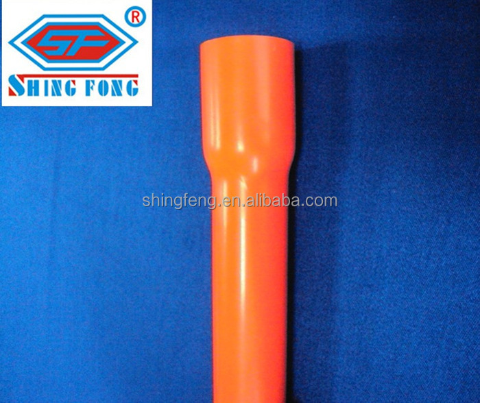 Philippines Red PVC Conduit With Socket 20mm