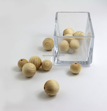 Pine Wooden Decorative Ball