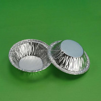 Y1 aluminum foil food containers round cake pans aluminum cup egg tart tray disposable cup/aluminum foil muffin pan