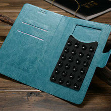 Fashion design book style leather case for samsung galaxy note 3 , universal phone case