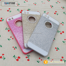 Bling diamond case for apple iphone 6S case crystal clear stone mobile cover