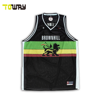 woman design your own jersey basketball color black