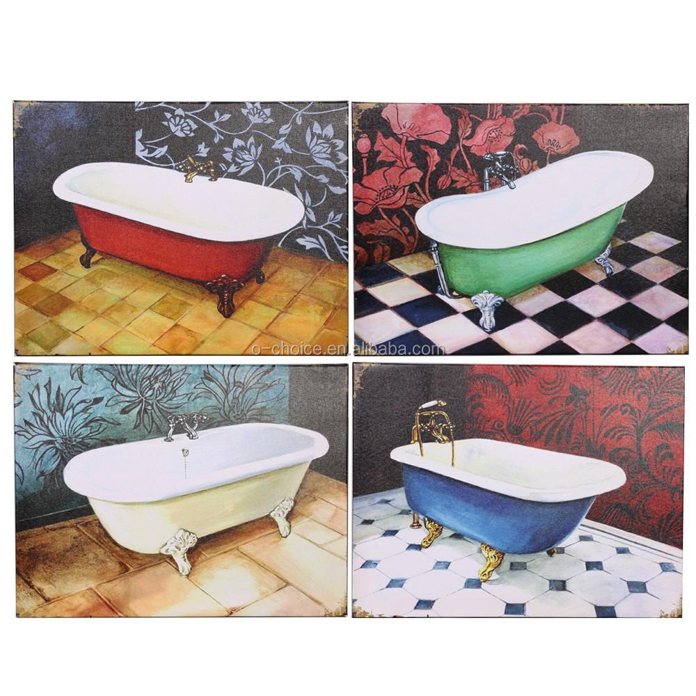 2015 Modern Canvas Oil Painting Of Bathroom Buy Canvas Painting Modern Canvas Painting Oil