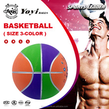 size 3 carton for kids promotion gift basketball