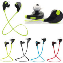 colorful sport waterproof wireless ear phones earphone for bluetooth